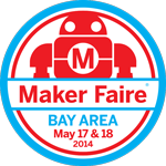 Maker Faire Bay Area 2014 Web Badge