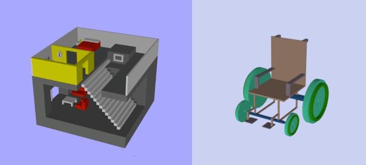 3D Slash - a 3D piece of cake
